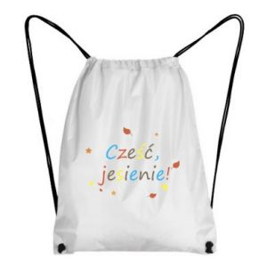 Backpack-bag Hello, Autumn!