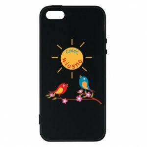 Etui na iPhone 5/5S/SE Cześć, wiosno!