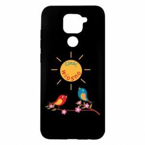 Xiaomi Redmi Note 9 / Redmi 10X case % print% Hi, spring!