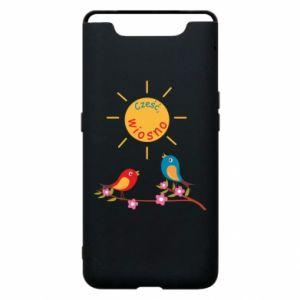 Etui na Samsung A80 Cześć, wiosno!
