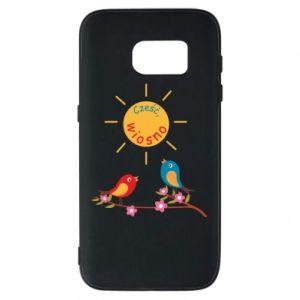 Etui na Samsung S7 Cześć, wiosno!