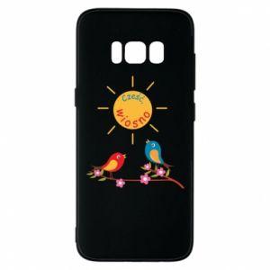 Etui na Samsung S8 Cześć, wiosno!