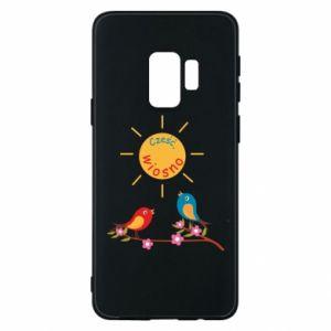 Etui na Samsung S9 Cześć, wiosno!
