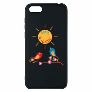 Phone case for Huawei Y5 2018 Hi, spring!