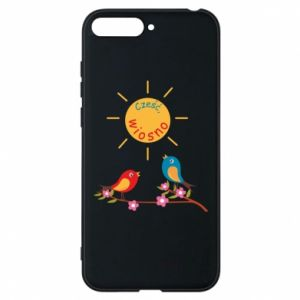 Phone case for Huawei Y6 2018 Hi, spring!