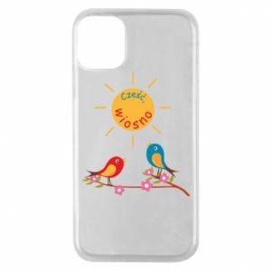 Phone case for iPhone 11 Pro Hi, spring!