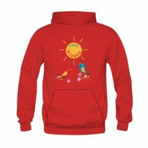 Kid's hoodie Hi, spring!