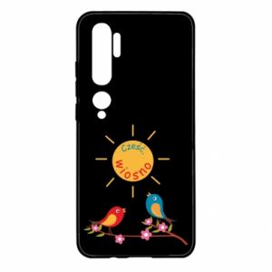 Xiaomi Mi Note 10 Case Hi, spring!