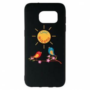 Samsung S7 EDGE Case Hi, spring!