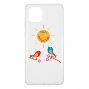Samsung Note 10 Lite Case Hi, spring!