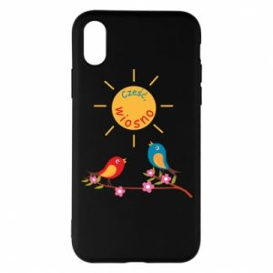 Phone case for iPhone X/Xs Hi, spring!