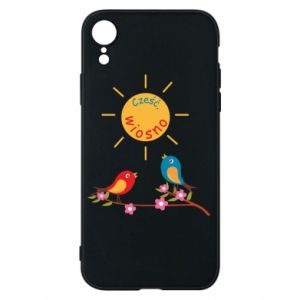 iPhone XR Case Hi, spring!