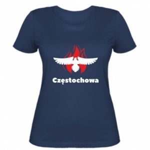 Women's t-shirt Czestochowa with eagle