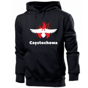 Men's hoodie Czestochowa with eagle