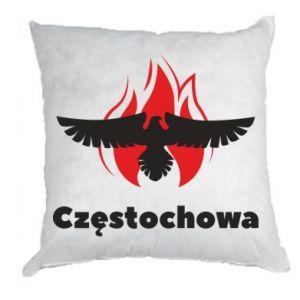 Poduszka Częstochowa z orłem