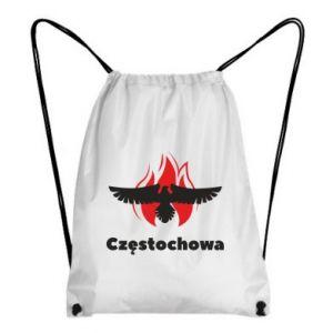 Plecak-worek Częstochowa z orłem