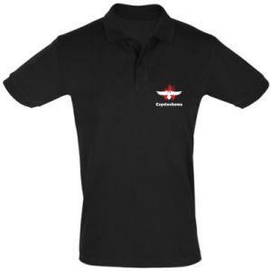 Koszulka Polo Częstochowa z orłem