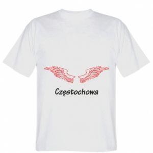 Koszulka Częstochowa ze skrzydłami