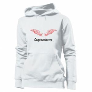Damska bluza Częstochowa ze skrzydłami