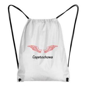 Plecak-worek Częstochowa ze skrzydłami