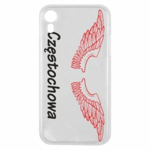 Etui na iPhone XR Częstochowa ze skrzydłami