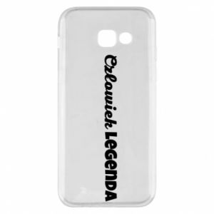 Phone case for Samsung A5 2017 Man of legend