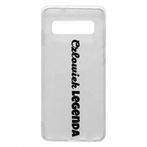 Phone case for Samsung S10 Man of legend