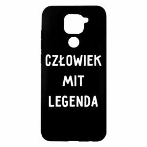 Etui na Xiaomi Redmi Note 9/Redmi 10X Człowiek Mit...