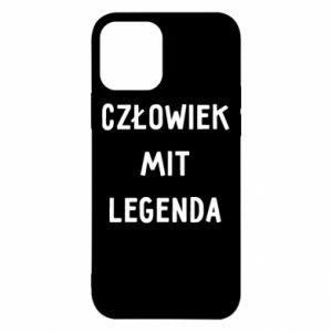 Etui na iPhone 12/12 Pro Człowiek Mit...
