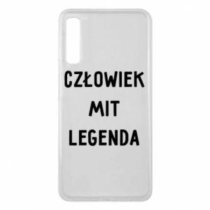 Etui na Samsung A7 2018 Człowiek Mit...