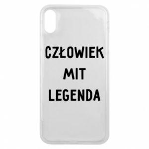 Etui na iPhone Xs Max Człowiek Mit...