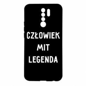 Etui na Xiaomi Redmi 9 Człowiek Mit...