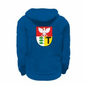 Kid's zipped hoodie % print% Dombrova Gournich coat of arms