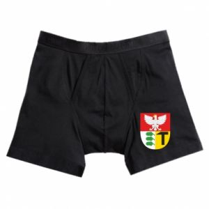 Boxer trunks Dombrova Gournich coat of arms