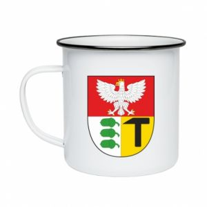 Enameled mug Dombrova Gournich coat of arms