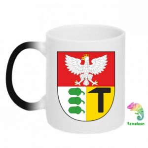 Chameleon mugs Dombrova Gournich coat of arms