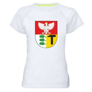 Women's sports t-shirt Dombrova Gournich coat of arms