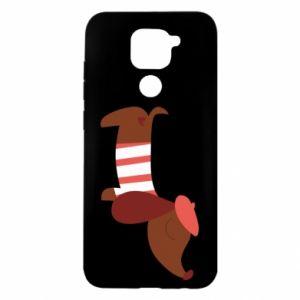 Etui na Xiaomi Redmi Note 9/Redmi 10X Dachshund french