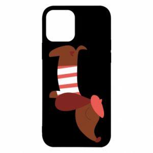 Etui na iPhone 12/12 Pro Dachshund french