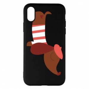 Etui na iPhone X/Xs Dachshund french