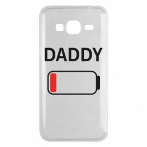 Etui na Samsung J3 2016 Daddy charge