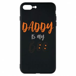 Phone case for iPhone 8 Plus Daddy is my boo - PrintSalon