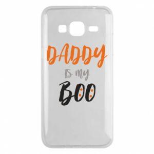 Phone case for Samsung J3 2016 Daddy is my boo - PrintSalon