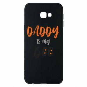 Phone case for Samsung J4 Plus 2018 Daddy is my boo - PrintSalon