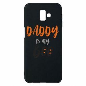 Phone case for Samsung J6 Plus 2018 Daddy is my boo - PrintSalon