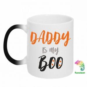 Chameleon mugs Daddy is my boo - PrintSalon
