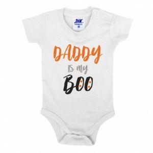 Baby bodysuit Daddy is my boo - PrintSalon