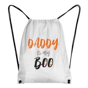 Backpack-bag Daddy is my boo - PrintSalon