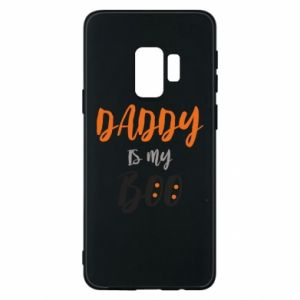 Phone case for Samsung S9 Daddy is my boo - PrintSalon