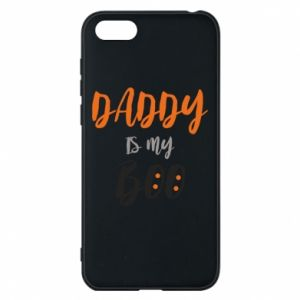 Phone case for Huawei Y5 2018 Daddy is my boo - PrintSalon